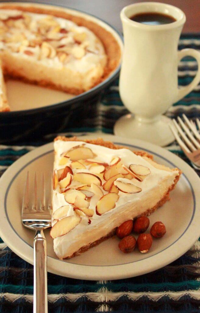 Creamy Almond Butter Pie