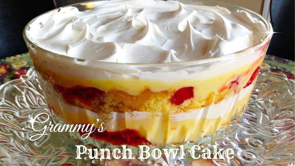Grammy's punch bowl